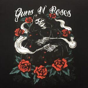 Guns N' Roses 2XL Black T-shirt GNR Hard Rock Band Axl Slash Duff Paradise City