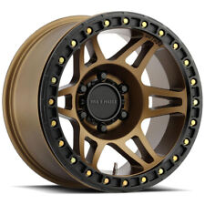 "Method MR106 Beadlock 17x9 6x5.5"" -44mm Bronze Wheel Rim 17"" Inch"