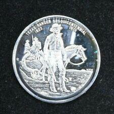 Texas Ranger Commemorative Silver Coin .999  1 troy. ounce 99c NO RESERVE
