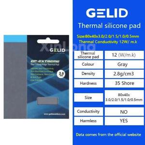 GELID GP-EXTREME 80X40X0.5 / 1.0 / 1.5 / 2.0 / 3.0mm PC CPU / GPU cooling pad