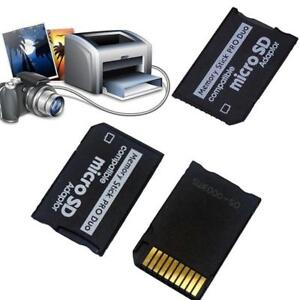 Micro SD TF auf Memory Stick MS Duo Reader für Adapterkonverter CZ BEST Neu