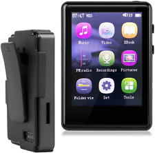 Mp3 Player, Mp3 Player With Bluetooth, 32Gb Sd Card Clip Mp3 Player With Fm Radi