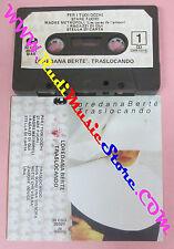 MC LOREDANA BERTE' Traslocando 1982 italy 30 CGD 20321 no cd lp vhs dvd