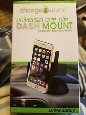 Charge Worx Universal Grip Clip Dash Mount