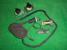 JAGUAR XJ 6 Used Original MIXED LOT of PARTS & FAN SWITCHES w/ KNOBS