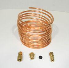 """Oil Pressure Gauge Copper Tubing Kit 3/16"""" x 12' for Massey Ferguson Harris New"""