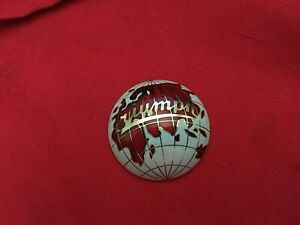 New Enamel Globe Hubcap Center for Triumph TR2-3-3A 101042