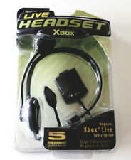 hip gear Live Headset Xbox Microphone Voice Recognition Adjustable New Black