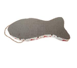 Major Katzen Pappe Kratzmatte mit Katzenminze, Kratzbrett, Katzenspielzeug