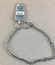 """Herm Sprenger Chain Dog Training Collar 2.5mm Length 20"""""""