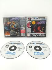 Heart of darkness platinum value version playstation PS1 PS P S 1 psx