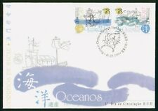 Mayfairstamps Macau FDC 1999 Oceans Combo First Day Cover wwr_03081
