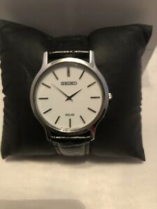 Seiko solar v115-0be0 mens Only worn once