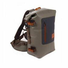 NEW FISHPOND WIND RIVER ROLL-TOP WATERPROOF BACKPACK IN SHALE - FREE US SHIP
