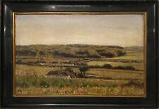 FARMHOUSES IN OPEN LANDSCAPE