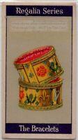 The Bracelets Armillae  Coronation Crown Jewel 1920s  Trade Ad Card