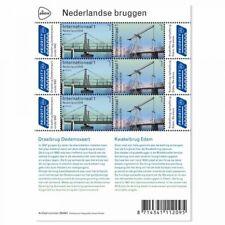 Nederland 2018    Europa Bruggen  Bridges Brücke  veleltje-sheetlet postfris/mnh