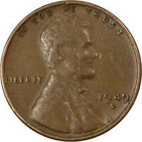 1949 D Lincoln Wheat Cent AG About Good Bronze Penny 1c Coin Collectible