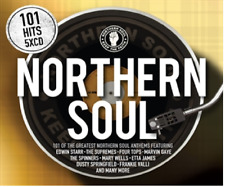 101 NORTHERN SOUL (Best Of / Greatest Hits): 5CD ALBUM BOX SET