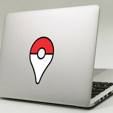 "POKEMON GO GEOTAG Apple MacBook Decal Sticker fits 11"" 12"" 13"" 15"" & 17"" models"