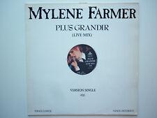 Mylene Farmer Maxi 45Tours vinyle Promo Plus Grandir