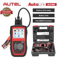 Car OBD2 Fault Code Reader OBDII Tool Auto Battery Tester Diagnostic Scanner