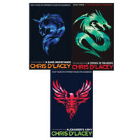 Unicorne Files Series Chris D'Lacey Collection 3 Books Set New Brand Pack