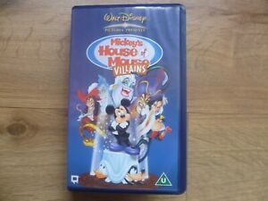 Mickey's House Of Mouse Villains - Walt Disney - Animated NEW SEALED Pal VHS