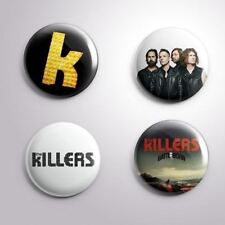 4 The Killers - Pinbacks Badge Button Pin 25mm 1''