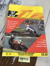 isle of Man Tourist Trophy 1987 TT Cycle official racing motorrad route IOMTT