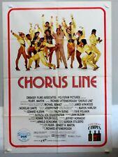 CHORUS LINE di RICHARDATTENBOROUGH-M. DOUGLAS - MANIFESTO 2F. ORIGINALE 1985 - M