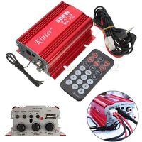 kinter MA-700 500W 12v Car Motor 2CH 2 Channel Audio Amplifier Hi-Fi USB MP3 FM