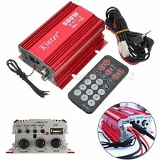 kinter MA-700 500W Car Motor Boat 2CH 2 Channel Audio Amplifier Hi-Fi USB MP3 FM