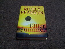 Ridley Pearson  signed  first edition Killer Summer Bk. 3 (2009, Hardcover)