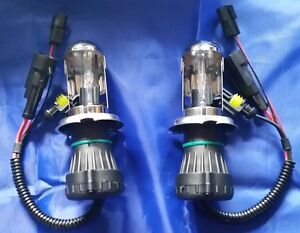 2 Xenon HID Headlight Bulbs replacement H13 12000K