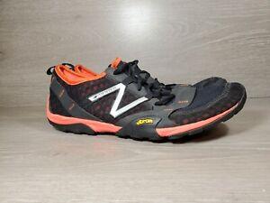 New Balance Minimus Men's Trail Running Shoes SIZE 13D Black Vibram MT10BR