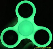 100x Glow in the Dark Hand Spinner Tri Fidget Focus Desk Toy Stocking Stuffer