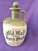 VINTAGE OLD MULL BLENDED SCOTCH WHISKY FLAGON - EMPTY