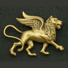 Vintage Historic Newport Reproductions Griffin Winged Lion Brooch (1446)