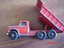 Vintage Matchbox Dumper Truck