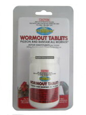 Vetafarm Pigeon and Bantom Wormout Tablets 50 pk poultry chicken chook AND-010
