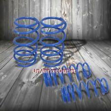 "Blue 1.5"" Drop Manzo Racing Performance Lowering Spring For 03-06 Scion xA xB"