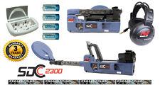 MINELAB SDC 2300 Folding Waterproof Metal Detector Pulse Induction NEW