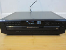 Sony CDP-250Z 5 Disc CD Changer/Carousel w/Manual Tested Free Shipping