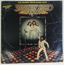 SATURDAY NIGHT FEVER - vintage vinyl - RARE RARE - Aussie SILVER/GREY  pressing