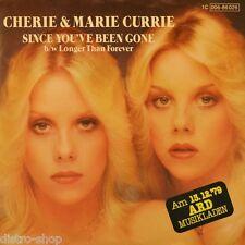 """7"""" CHERIE & MARIE CURRIE Since You've Been Gone RUSS BALLARD RAINBOW Musikladen"""