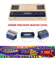 12 Master Precision Level For Machinist Tool 002mmm Usa Carbon Steel Fast