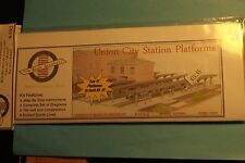 N SCALE UNION CITY STATION PLATFORMS / N SCALE ARCHITECT #10901