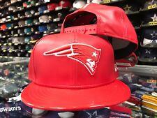 New England Patriots Jordan RETRO 11 HOOK Scarlet Snapback 9Fifty New Era Hat