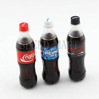 Portable Mini Cola Soda Bottle Lighter Refillable Butane Gas Fire Cigarette Gift